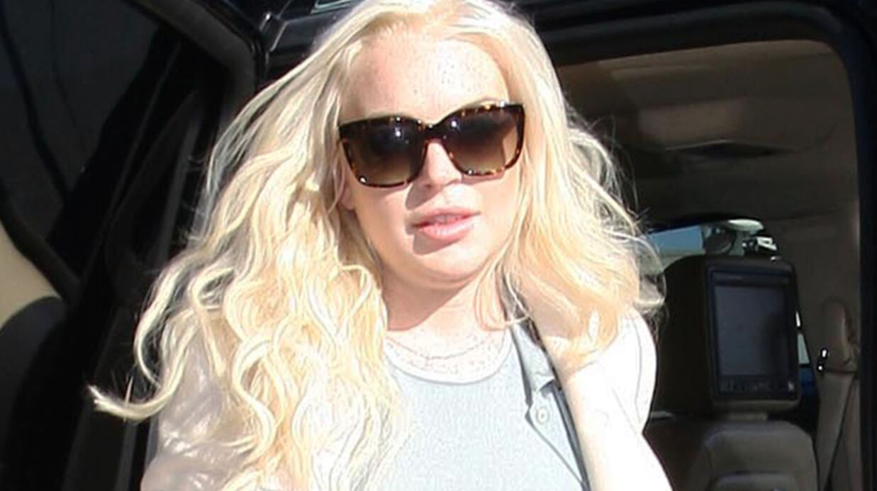 Lindsay Lohan aurait percuté un piéton et pris la fuite