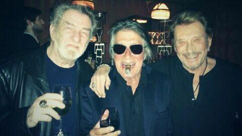 Johnny Hallyday, Eddy Mitchell et Jacques Dutronc vont monter un trio
