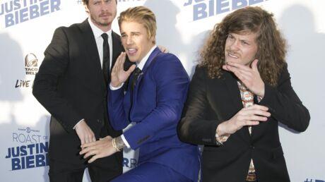PHOTOS Justin Bieber entouré de nombreuses stars pour son humiliation à la télévision