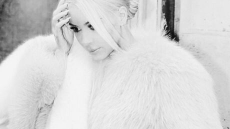 PHOTO Kim Kardashian s'inspire de la Reine des Neiges pour son look