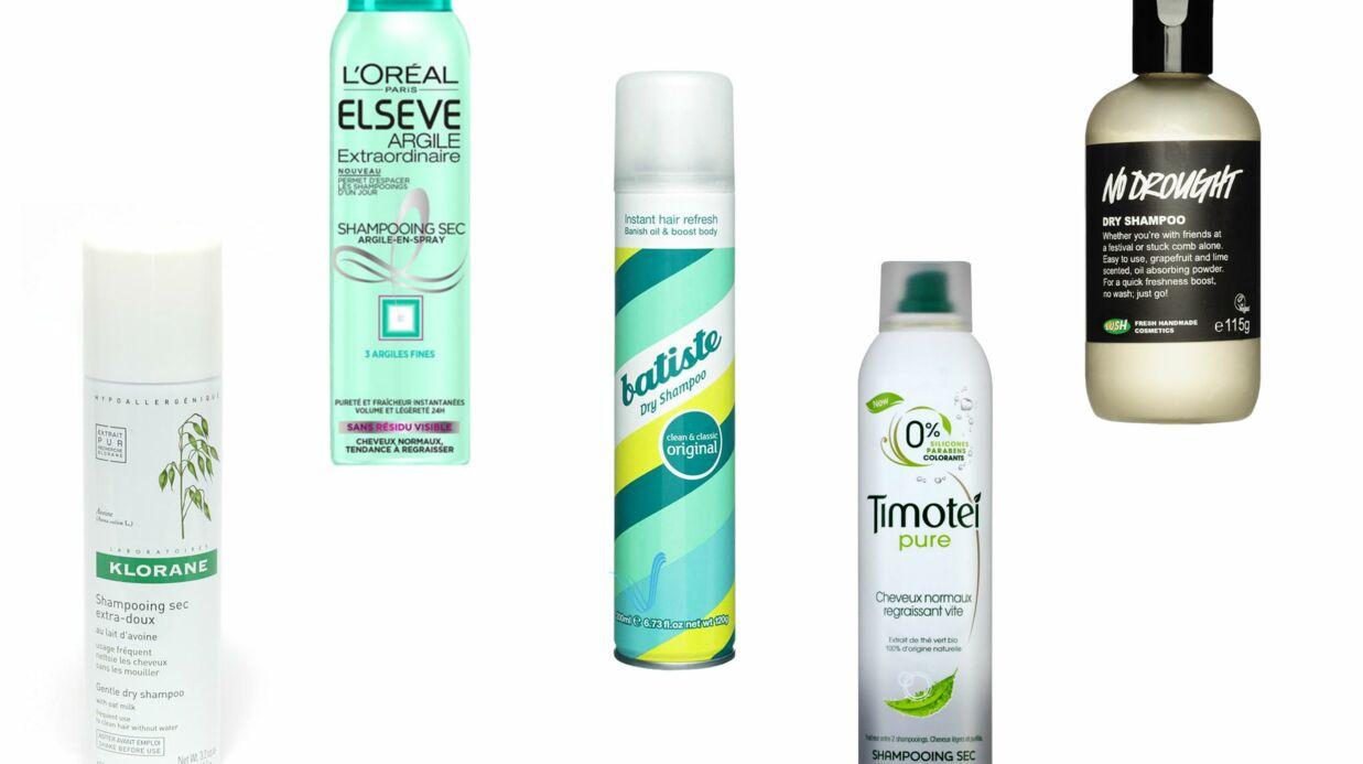 Top 5 des shampoings secs à moins de 10€