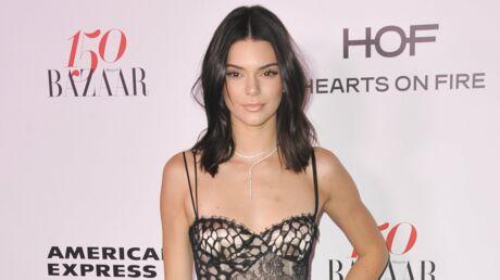 Kendall Jenner: en lingerie et porte-jarretelles, elle fait grimper la température