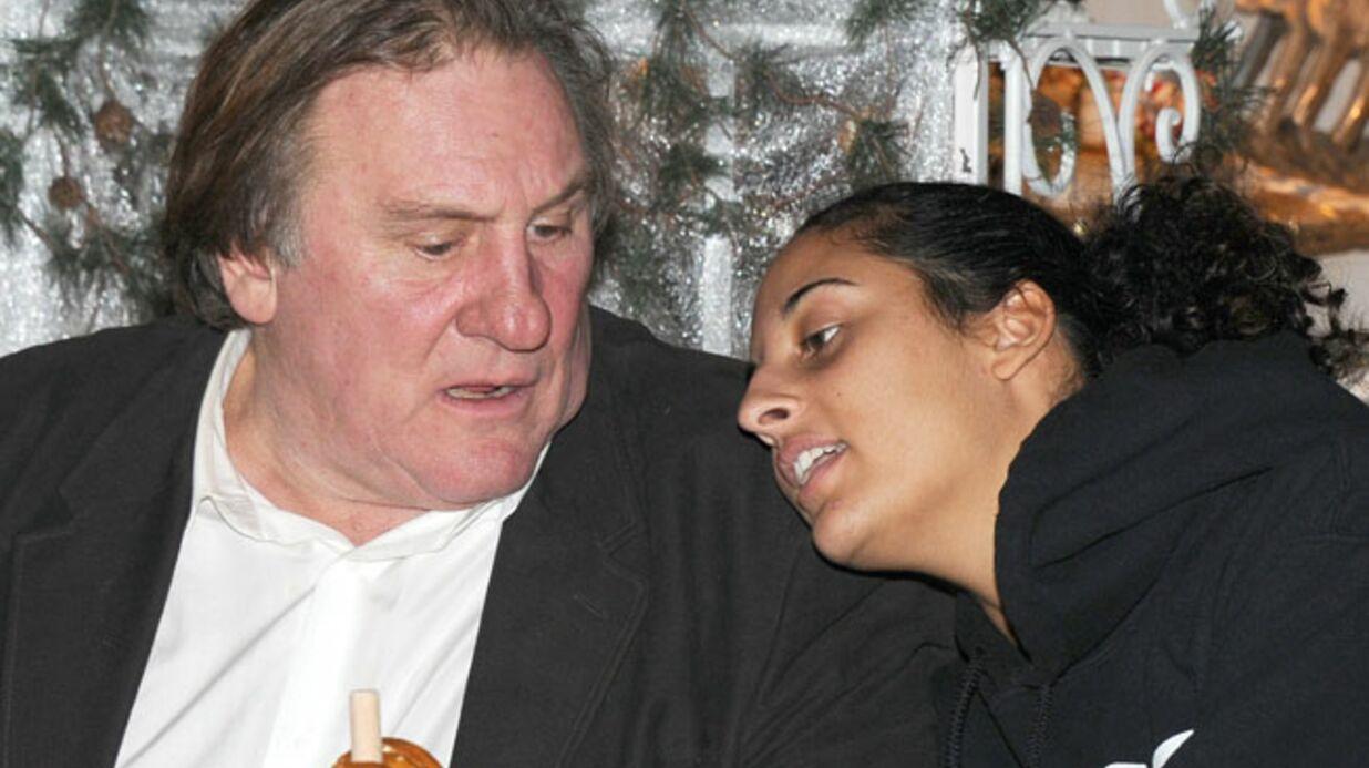 PHOTOS Gérard Depardieu partage un moment de tendresse avec sa fille Roxane