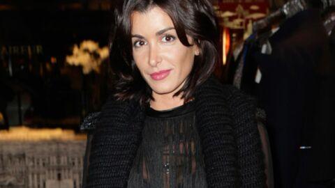 PHOTOS Jenifer très sexy pour illuminer la rue du Faubourg Saint-Honoré