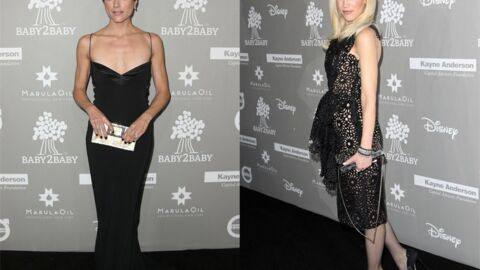 DIAPO Gwen Stefani en robe transparente, Selma Blair (Sexe intentions) très amaigrie