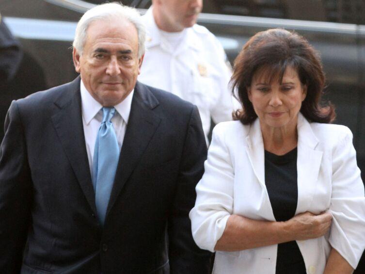 Anne Sinclair et Dominique Strauss-Kahn : leurs retrouvailles