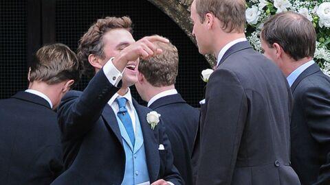 DIAPO Le prince William au mariage d'un ami avec Pippa et le prince Harry