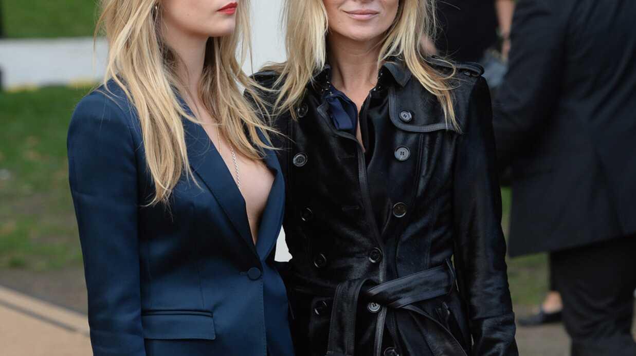PHOTOS Cara Delevingne sans soutien-gorge à la fashion week de Londres