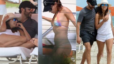 PHOTOS Amoureuse, Eva Longoria profite du soleil de Miami avec Jose