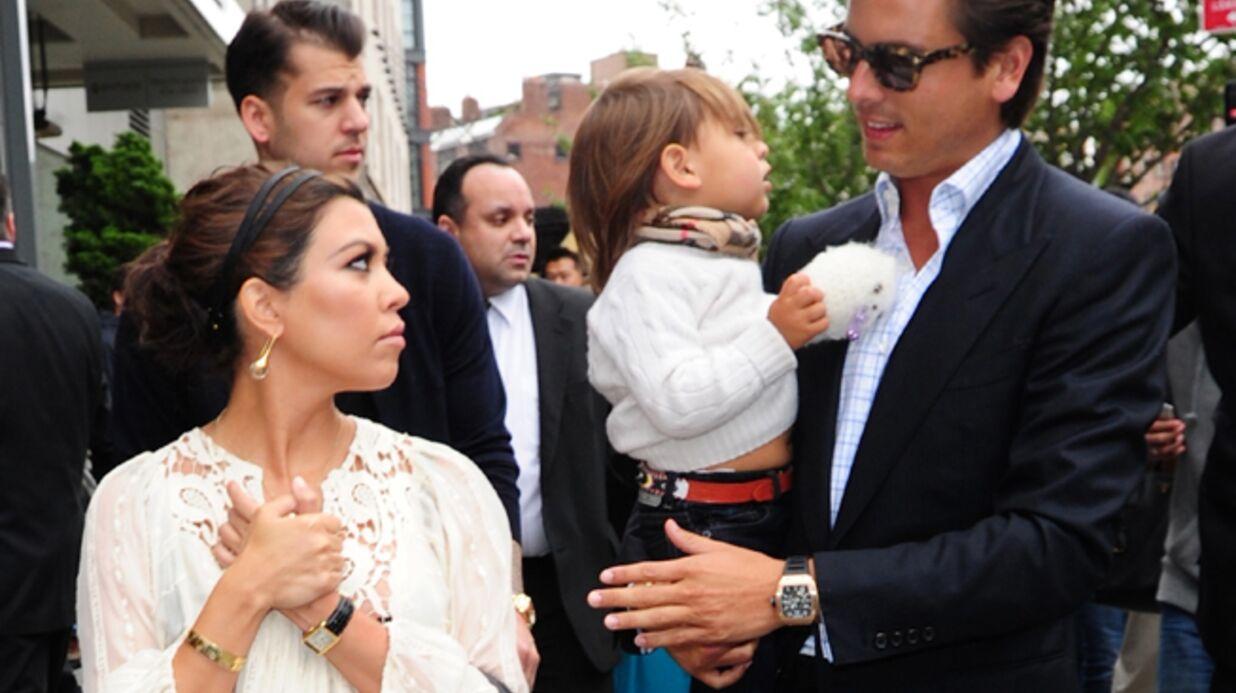 Kourtney Kardashian prouve que Scott Disick est bien le père de son fils