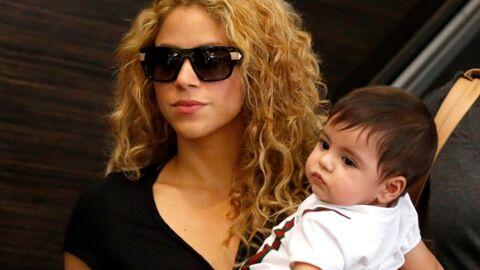 DIAPO Retour de vacances pour Shakira et son fils Milan