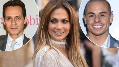 PHOTO Jennifer Lopez pose entre son ex Marc Anthony et son chéri actuel Casper Smart