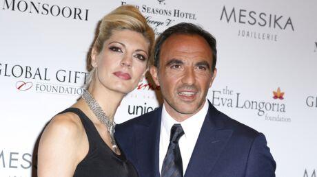 PHOTO Nikos Aliagas: sa femme Tina Grigoriou l'immortalise torse nu