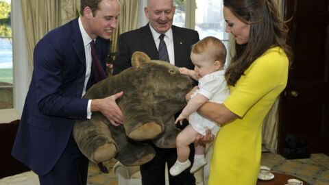 PHOTOS Kate, William et George font déjà craquer l'Australie