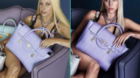 PHOTOS Lady Gaga: sans retouches, ses photos pour Versace sont moins glamour