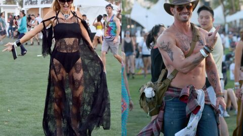 PHOTOS Coachella 2016: Paris Hilton s'éclate en robe transparente, Kellan Lutz enlève le haut