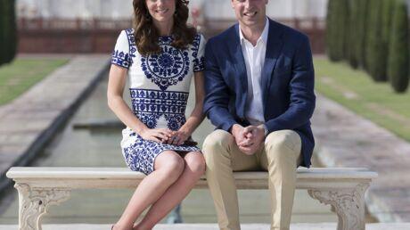 PHOTOS Le prince William et Kate Middleton au Taj Mahal: leur hommage à Lady Di