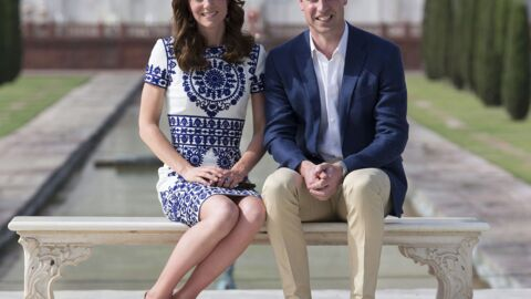 PHOTOS Le prince William et Kate Middleton au Taj Mahal: leur hommage à Lady Di
