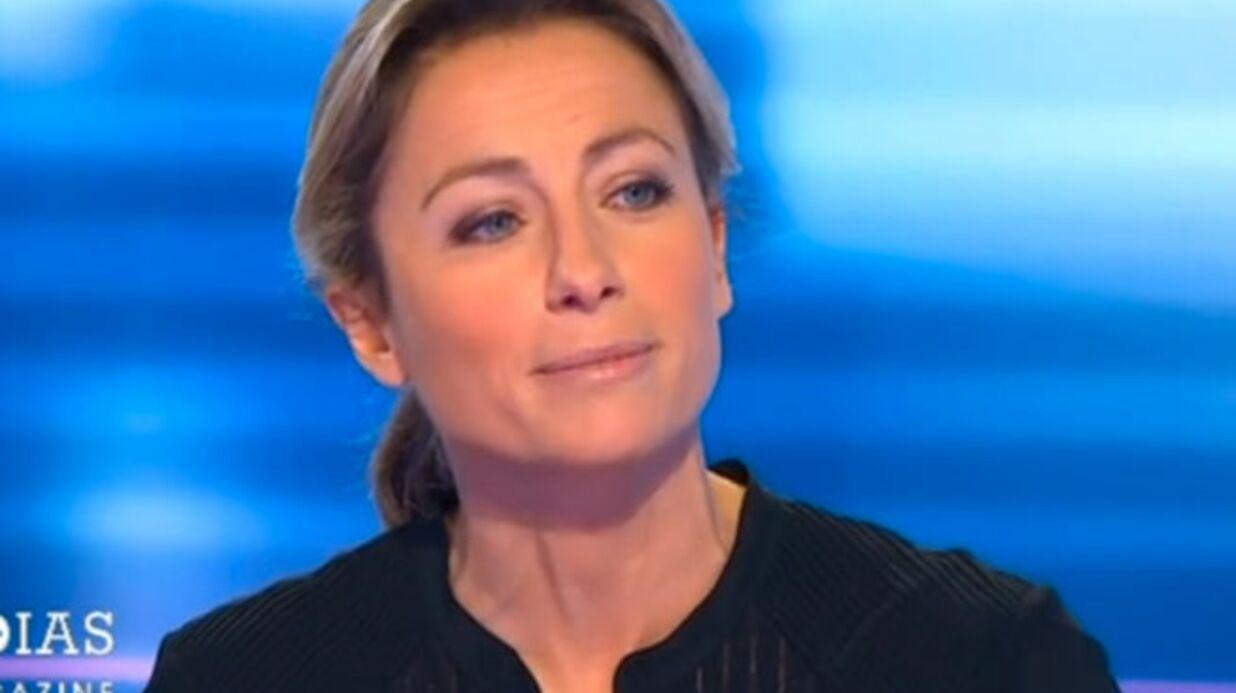 VIDEO Anne-Sophie Lapix réagit au clash Baffie-Michalak dans C à vous