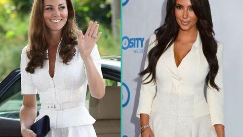 PHOTOS Incroyable! Pour s'habiller, Kate Middleton s'inspire de… Kim Kardashian