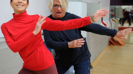 PHOTOS Véronique et Davina (Gym Tonic) réunies à nouveau pour donner un cours de fitness
