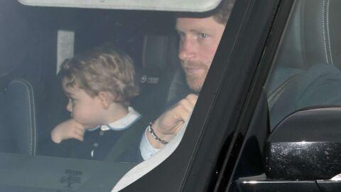 PHOTOS Kate Middleton, George et la famille royale chez la reine pour une fête de Noël
