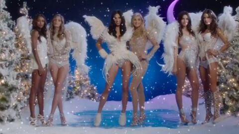 VIDEO Victoria's Secret: Alessandra Ambrosio, Adriana Lima… vous souhaitent un Joyeux Noël
