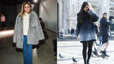 Le shopping de Marieluvpink: une veste en fausse fourrure comme Olivia Palermo
