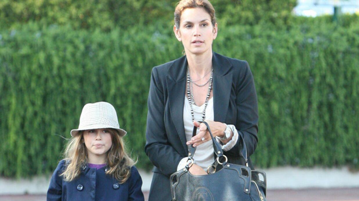 Cindy Crawford interrompt la carrière de mannequin de sa fille
