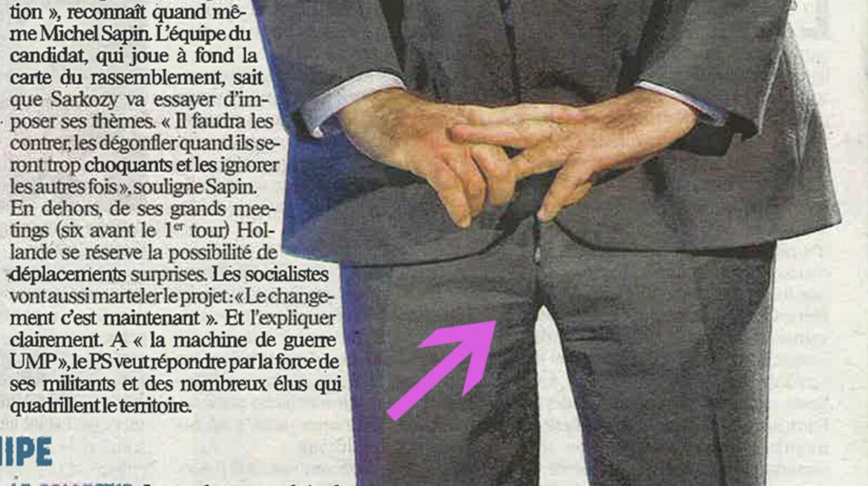 PHOTOS François Hollande oublie de fermer sa braguette!