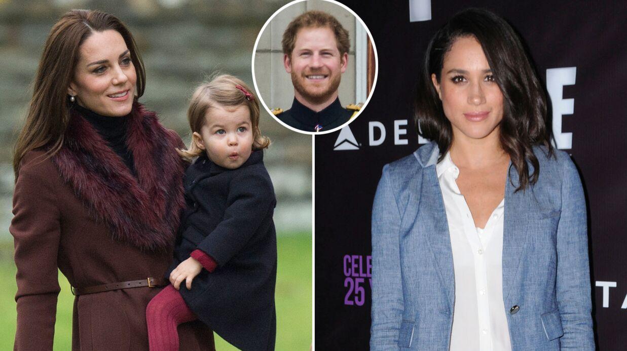Ça y est, le prince Harry a présenté Meghan Markle à Kate Middleton et à Charlotte