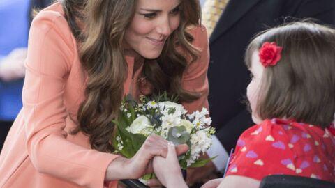 Très enceinte, Kate Middleton s'investit toujours pour les autres