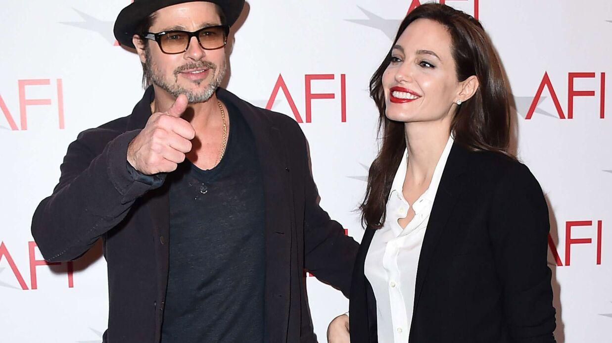 Brad Pitt et Angelina Jolie: leurs dix ans d'amour en photos
