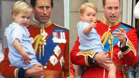 DIAPO William et George, Charles et William: à 31 ans d'écart l'adorable copié-collé