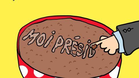 Louison a croqué… François Hollande se lâche sur la mousse au chocolat