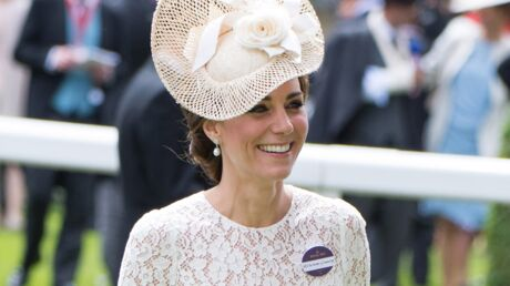 PHOTOS Kate Middleton sublime en robe en dentelle transparente à Ascot