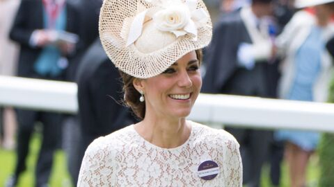 PHOTOS Kate Middleton sublime en robe en dentelle transparente à Ascot