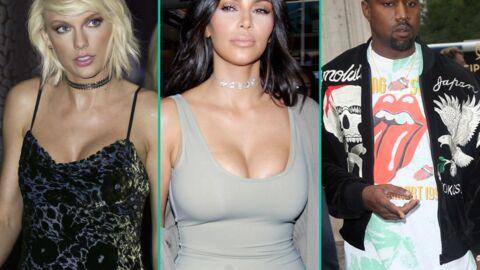 Kim Kardashian prend la défense de son mari Kanye West face à Taylor Swift