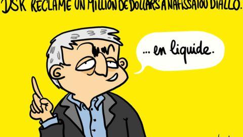 Louison a croqué… DSK attaque Nafissatou