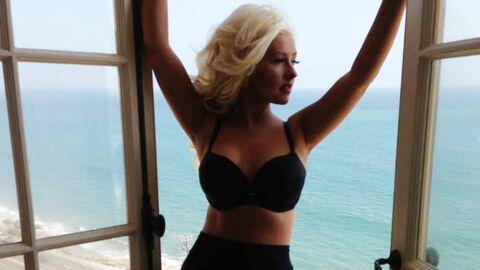 PHOTO Christina Aguilera affiche fièrement sa spectaculaire perte de poids