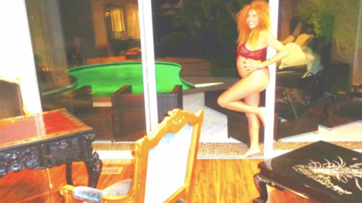 PHOTOS Afida Turner annonce être enceinte sur Twitter, certains ne la croient pas