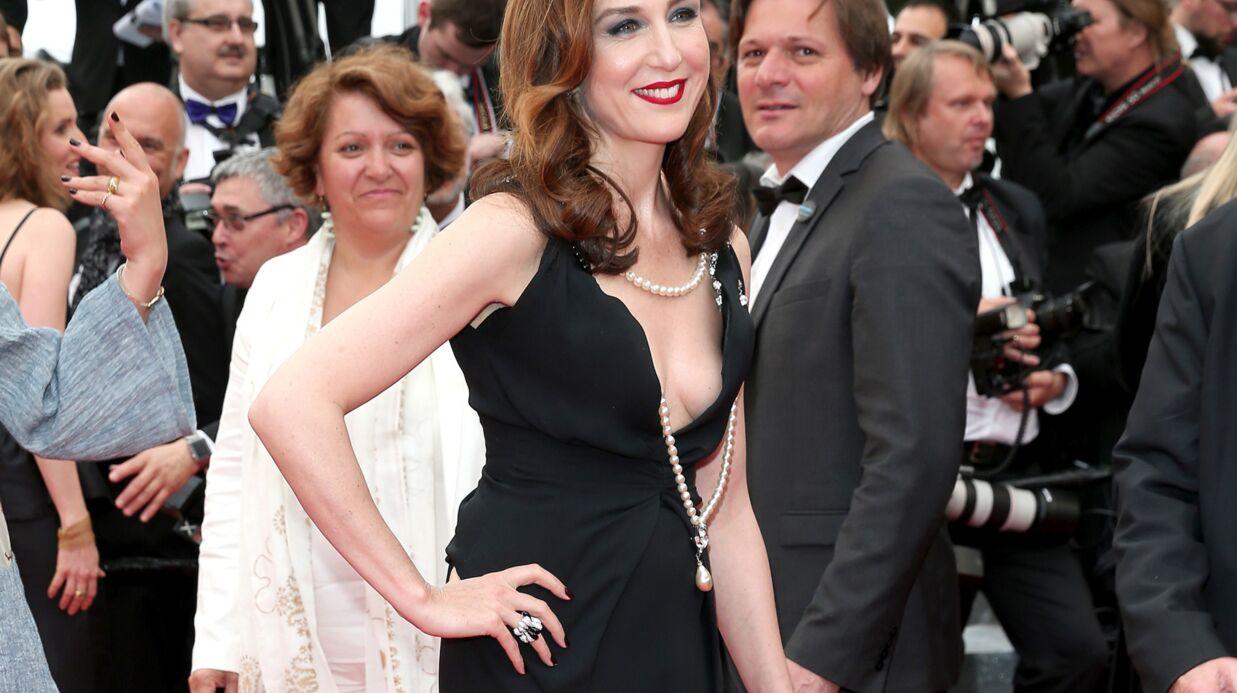 PHOTOS Cannes 2016: oups, Elza Zylberstein dévoile un sein sur le tapis rouge