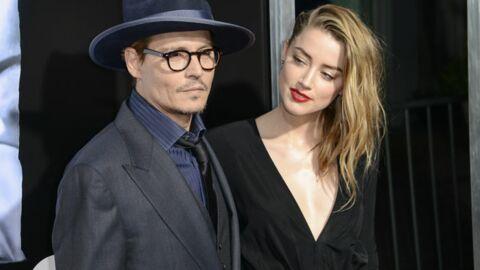 Johnny Depp et Amber Heard fêtent leurs fiançailles à Los Angeles