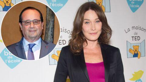 PHOTO Carla Bruni-Sarkozy: François Hollande l'invite à l'Elysée, elle le tacle avec humour