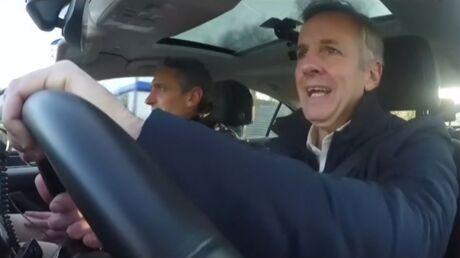 VIDEO Regardez Bernard de La Villardière conduire après avoir fumé un joint