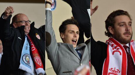 PHOTOS Albert de Monaco déchaîné avec Pierre Casiraghi et Louis Ducruet pour la victoire de son club