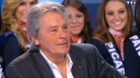 Miss France 2012: clash entre Francis Huster et Alain Delon