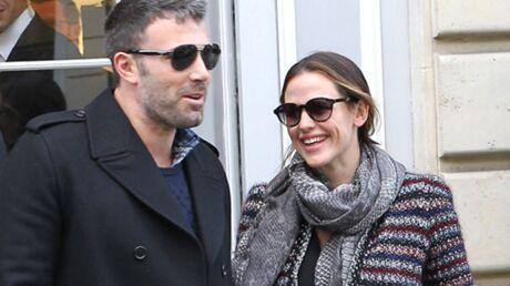 DIAPO Jennifer Garner et Ben Affleck en amoureux à Paris