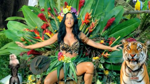 Katy Perry s'attire les foudres de la PETA avec le clip de Roar