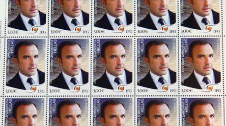 PHOTOS Découvrez des timbres à l'effigie de… Nikos Aliagas